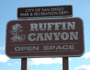 Ruffin Canyon sign
